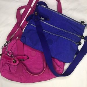 LOT OF TWO Kipling Crossbody Bags